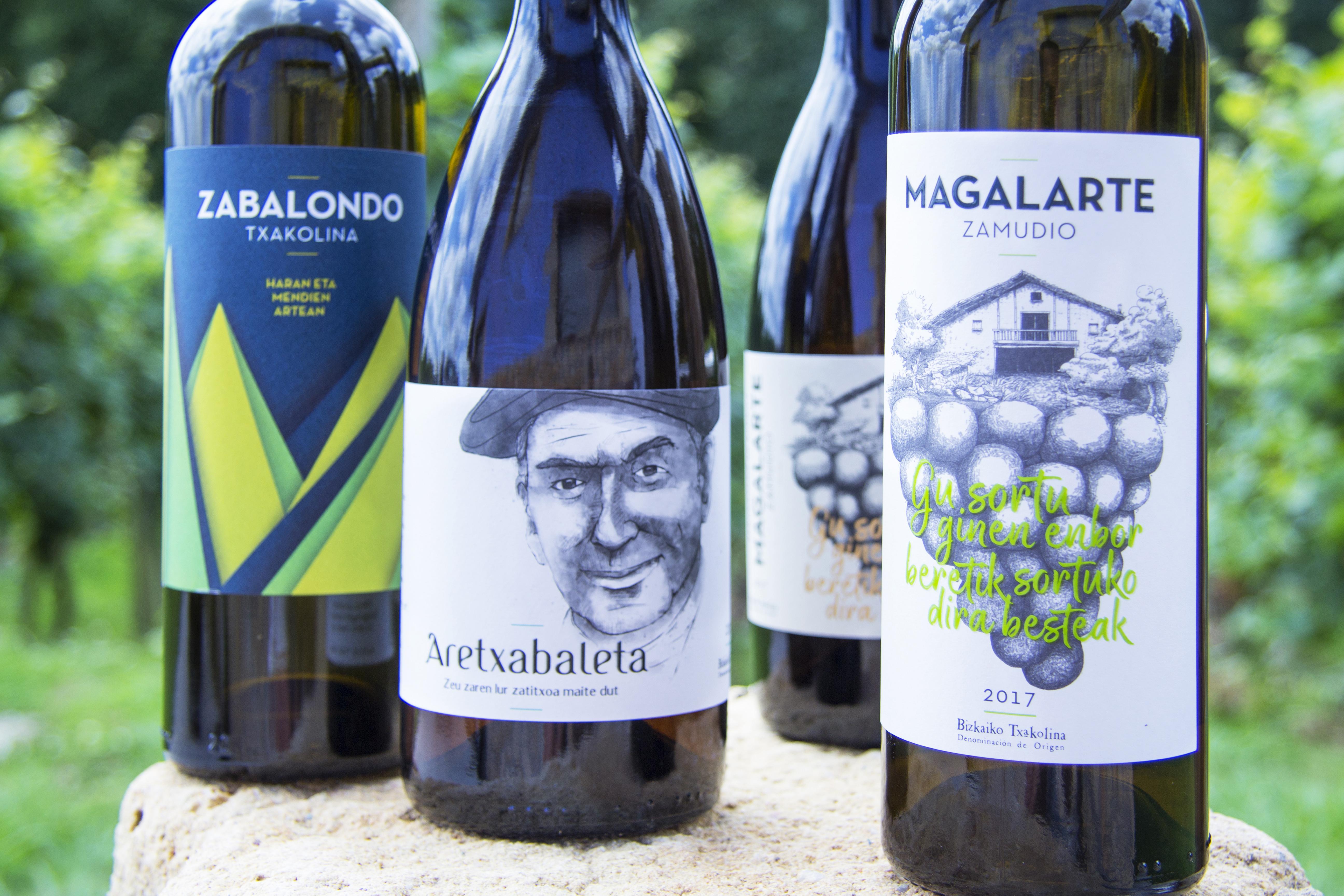 Todos los txakolis de Bodega Magalarte Zamudio premiados en la IWA